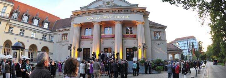 exterior of the King Albert Theatre