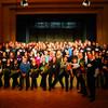 Unsere jüngsten Ehrenkünstler: Das Musicalensemble des Gymnasiums Markneukirchen/V.