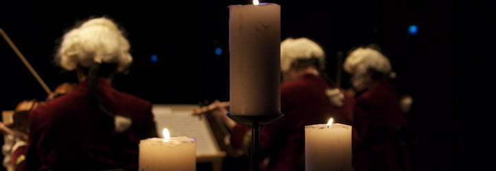 Serenade imperssions in candle light